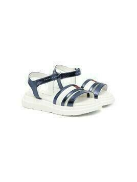 Tommy Hilfiger Junior strappy open-toe sandals - Blue