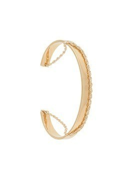 Petite Grand Chain and Cuff bracelet - Metallic