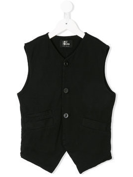 Lost And Found Kids double pocket waistcoat - Black