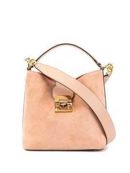Mark Cross small Murphy bucket bag - Pink