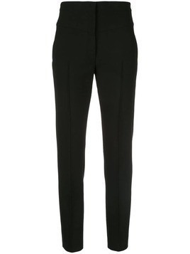 Akris Punto high rise tapered trousers - Black
