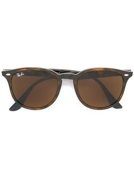 Ray-Ban oval frame sunglasses - Brown