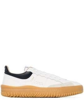 Chloé low-top lace-up sneakers - White