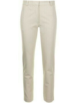 Joseph cropped straight-leg trousers - Green
