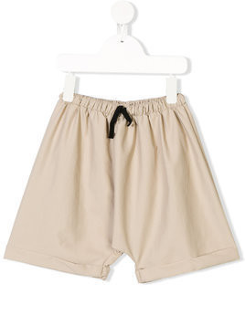 Little Creative Factory Kids drawstring waist swim shorts - Neutrals