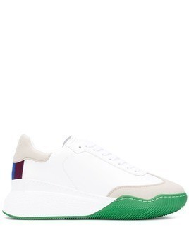 Stella McCartney Loop lace-up trainers - White