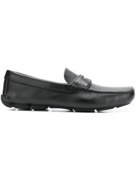 Prada slip-on loafers - Black