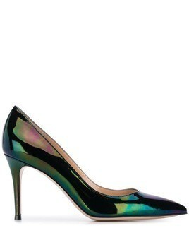Gianvito Rossi patent pumps - Black