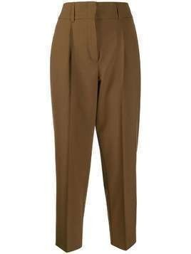 Dorothee Schumacher high-waisted pleated trousers - Brown