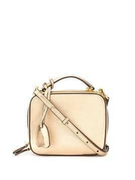 Mark Cross mini Laura crossbody bag - Gold