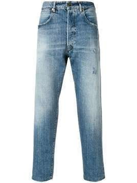 Golden Goose Deluxe Brand cropped straight leg jeans - Blue