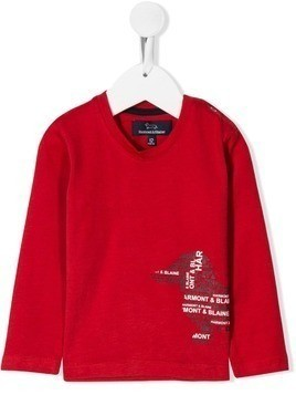 Harmont & Blaine Junior embroidered sweatshirt