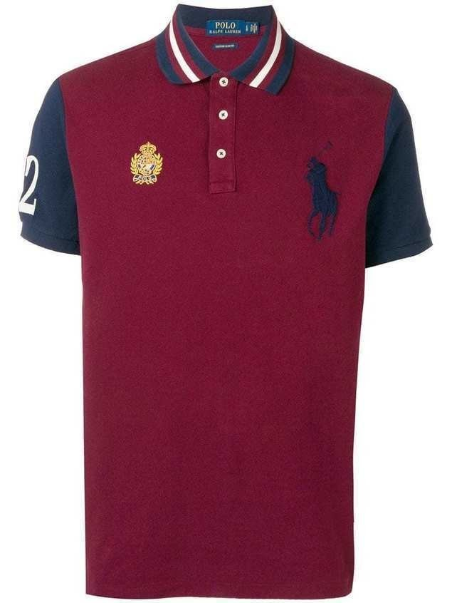 Polo Ralph Lauren embroidered crest logo polo shirt