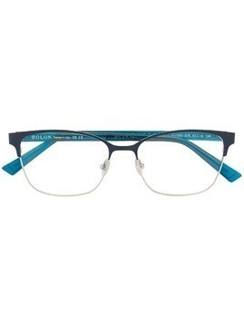 Bolon square frame glasses - Blue