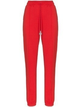 Ninety Percent stitched front sweatpants - Red