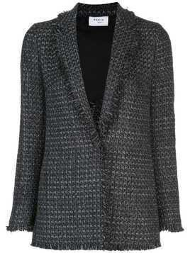 Akris Punto tweed tailored jacket - Black