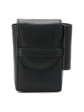 Ann Demeulemeester folder top coin purse - Black