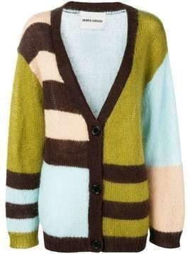 Henrik Vibskov Party cardigan - Green