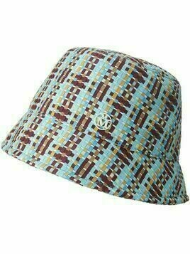 Maison Michel Souna interwoven bucket hat - Blue