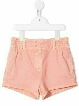 Stella McCartney Kids elasticated waist denim shorts - PINK