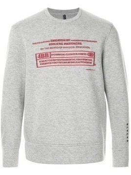 Blackbarrett disclaimer sweatshirt - Grey