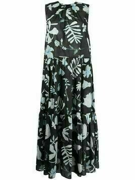 Christian Wijnants floral maxi dress - Black