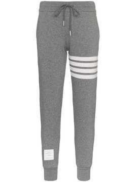 Thom Browne Striped Track Pants - Grey