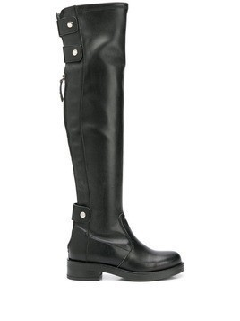 Albano knee-length boots - Black