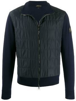 Belstaff Kerby zip-up cardigan - Blue