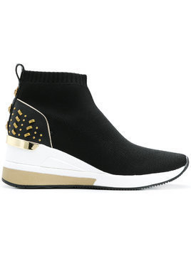 Michael Michael Kors high platform sneakers - Black
