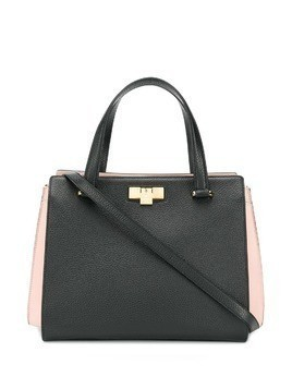 Giancarlo Petriglia twist lock tote - Black