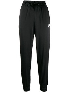 Nike high-waisted track pants - Black
