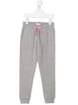 Chloé Kids drawstring track pants - Grey