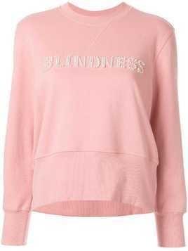 Blindness logo sweatshirt - PINK