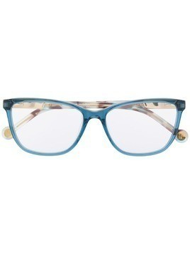 Ch Carolina Herrera rectangle glasses - Blue