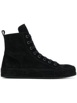Ann Demeulemeester hi-top sneakers - Black