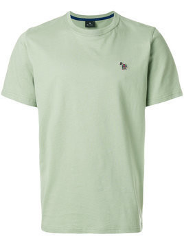 Ps By Paul Smith - zebra logo T-shirt - Herren - Organic Cotton - M - Green