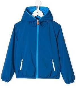 Save The Duck Kids zipped-up jacket - Blue