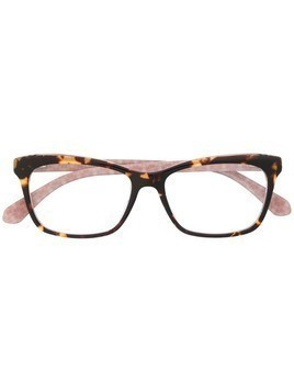 Kate Spade rectangular glasses - Brown