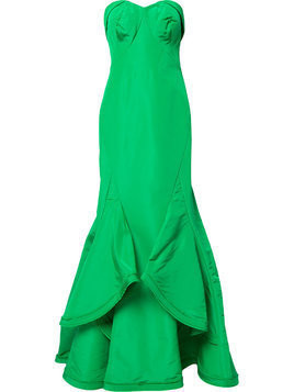 Zac Posen sweetheart neck mermaid gown - Green