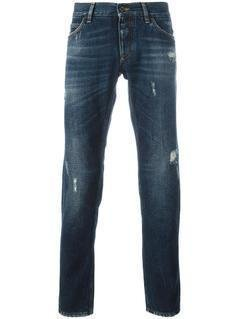Dolce&Gabbana - Ripped Detail Jeans - Men - Cotton - 46