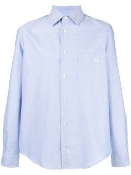 Golden Goose Deluxe Brand classic curved hem shirt - Blue