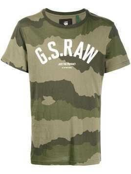 G-Star Raw Research camouflage print T-shirt - Green