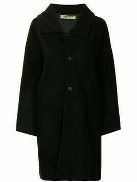 Comme Des Garçons Pre-Owned single-breasted midi coat - Black