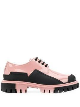 Dolce & Gabbana Trekking Derby lace-up shoes - PINK