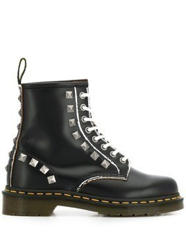 Dr. Martens studded lace-up boots - Black