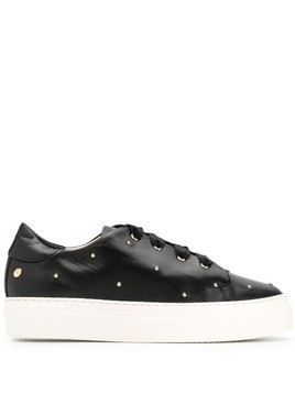 AGL rounded stud sneakers - Black
