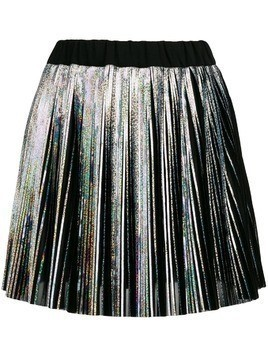 Balmain Holographic mini skirt - Metallic