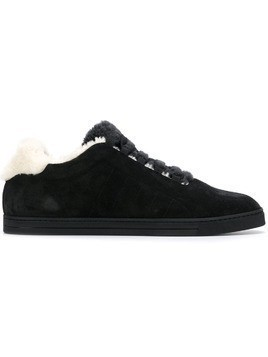 Fendi lace fastened sneakers - Black