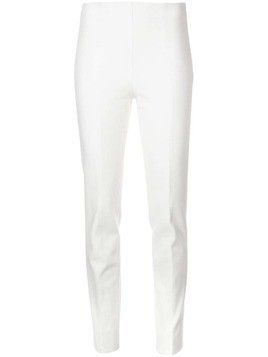 Akris Punto slim fit trousers - White